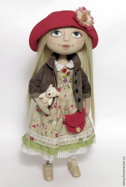 Коллекционные куклы ручной работы. Ярмарка Мастеров - ручная работа. Купить Тая. Handmade. Кукла ручной работы, подарок девочке