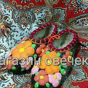 Обувь ручной работы. Ярмарка Мастеров - ручная работа Цветочные мотивы.. Handmade.