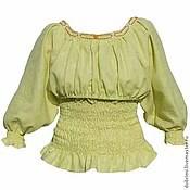 Одежда ручной работы. Ярмарка Мастеров - ручная работа Набор с готовой блузкой для кормления под вышивку. Handmade.