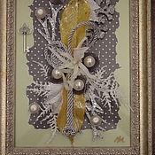 Картины и панно ручной работы. Ярмарка Мастеров - ручная работа Ключ от заснеженного города. Handmade.