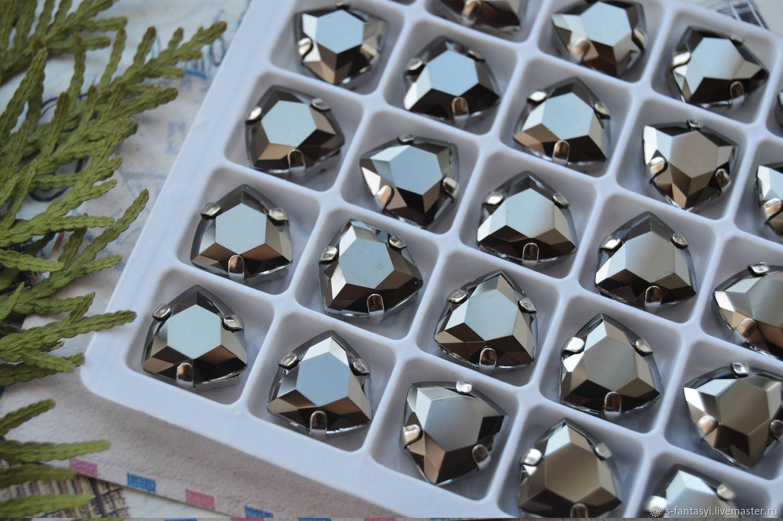 Trillian 12 mm hematite LUX, Cabochons, Stavropol,  Фото №1