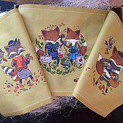 Для дома и интерьера handmade. Livemaster - original item Serving napkins: