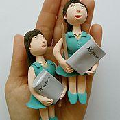 Куклы и игрушки ручной работы. Ярмарка Мастеров - ручная работа Фигурка Учитель. Handmade.