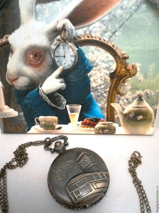 """Часы ручной работы. Ярмарка Мастеров - ручная работа. Купить Часы карманные """"Лондон. Биг Бен"""". Handmade. Часы"""