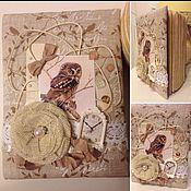 """Канцелярские товары ручной работы. Ярмарка Мастеров - ручная работа """"Сова"""". Handmade."""