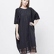 """Одежда ручной работы. Ярмарка Мастеров - ручная работа Платье-рубашка """"Lace Black"""". Handmade."""