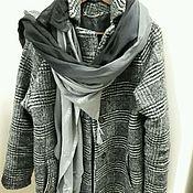 Одежда ручной работы. Ярмарка Мастеров - ручная работа Пальто трикотаж Италия. Handmade.
