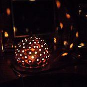 Для дома и интерьера handmade. Livemaster - original item Night light,lamp-Starry night.. Handmade.
