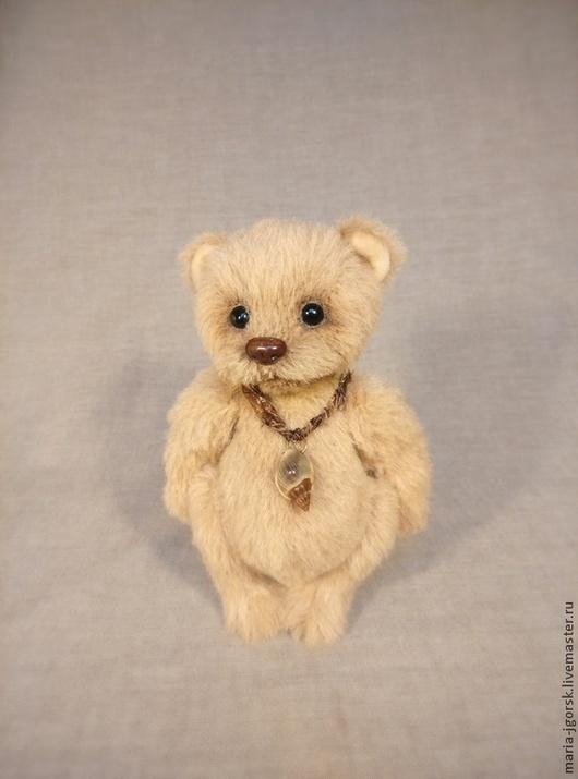 Мишки Тедди ручной работы. Ярмарка Мастеров - ручная работа. Купить Медвежонок малыш. Handmade. Бежевый, теддик, альпака