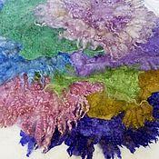 Работы для детей, ручной работы. Ярмарка Мастеров - ручная работа Валяные коврики, реквизит для фотосессии. Handmade.