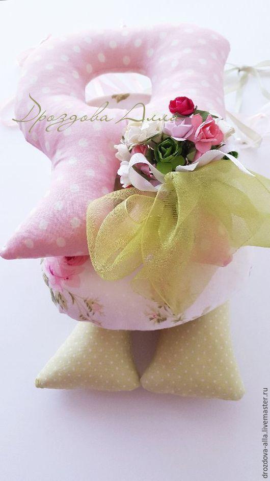 Интерьерные слова ручной работы. Ярмарка Мастеров - ручная работа. Купить Текстильное Имя.. Handmade. Бледно-розовый, имя