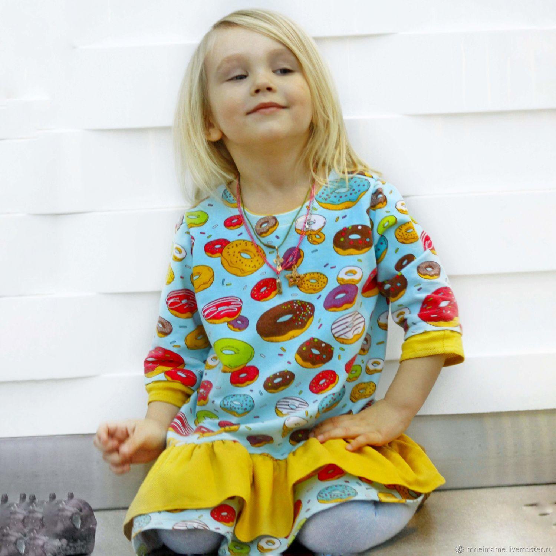 """Платье """" С пончиками"""" из семейного комплекта, Платья, Москва, Фото №1"""