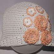 Работы для детей, handmade. Livemaster - original item Panama hats for girls