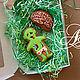 """Подарки на Хэллоуин ручной работы. Набор пряников """"Зомби и мозгииии"""". A&E Красивые сладости.. Ярмарка Мастеров. Зомби, пряничное тесто"""
