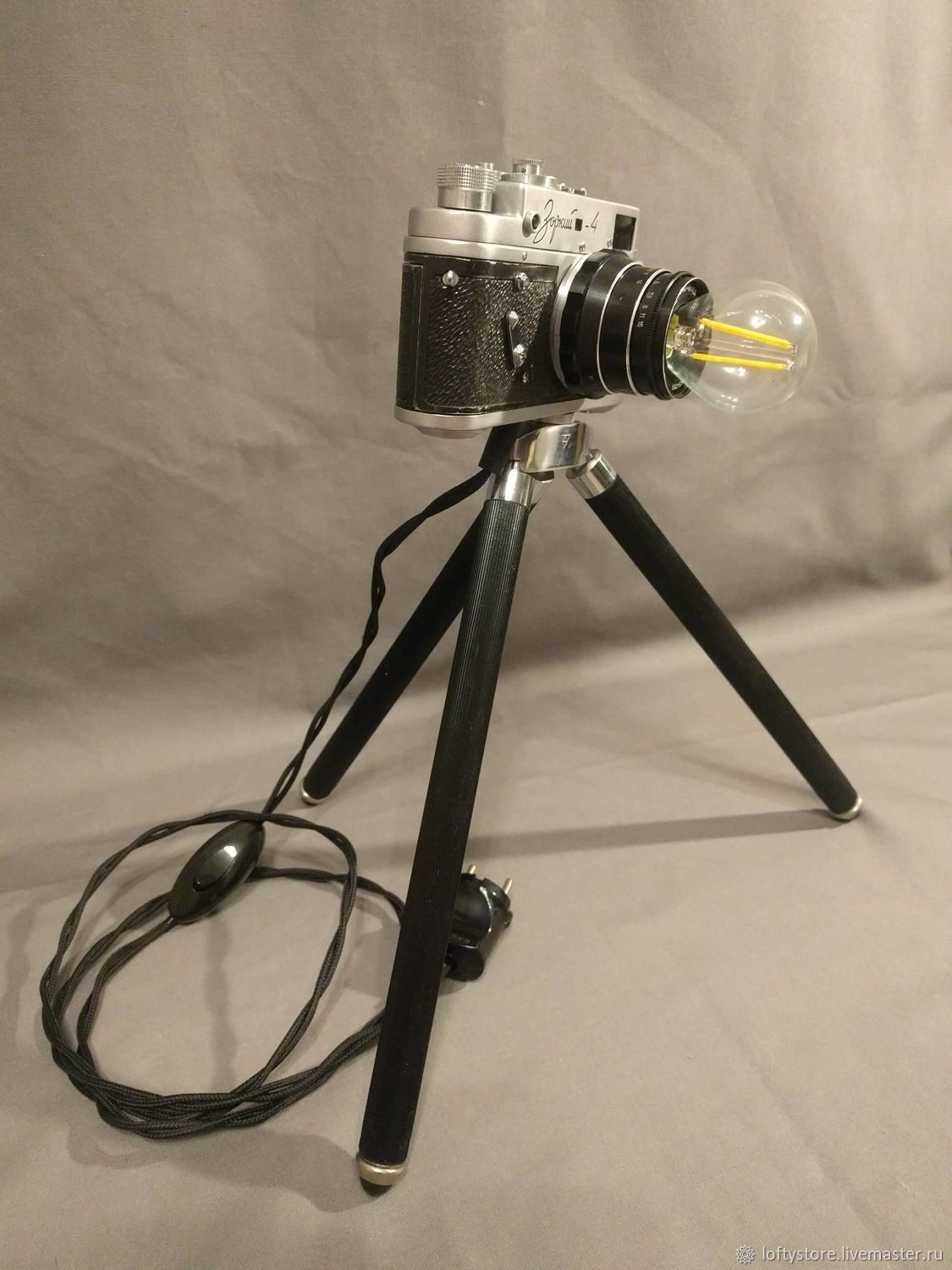 Photo lamp 'Sharp-sighted 4' with lens and lamp, Table lamps, Permian,  Фото №1