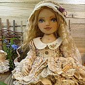 Куклы и игрушки ручной работы. Ярмарка Мастеров - ручная работа Текстильная кукла Лизавета. Handmade.