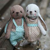 Куклы и игрушки ручной работы. Ярмарка Мастеров - ручная работа Патрик и Лола. Handmade.