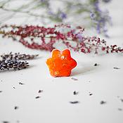 """Кольца """"Оранжевые цветы"""""""