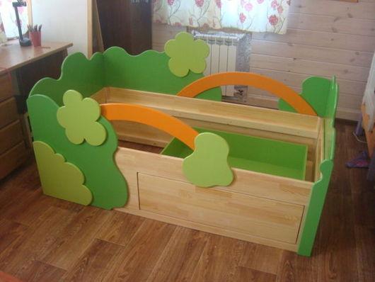 """Мебель ручной работы. Ярмарка Мастеров - ручная работа. Купить кровать """"Сказочный лес"""". Handmade. Кровать, мебель из дерева"""