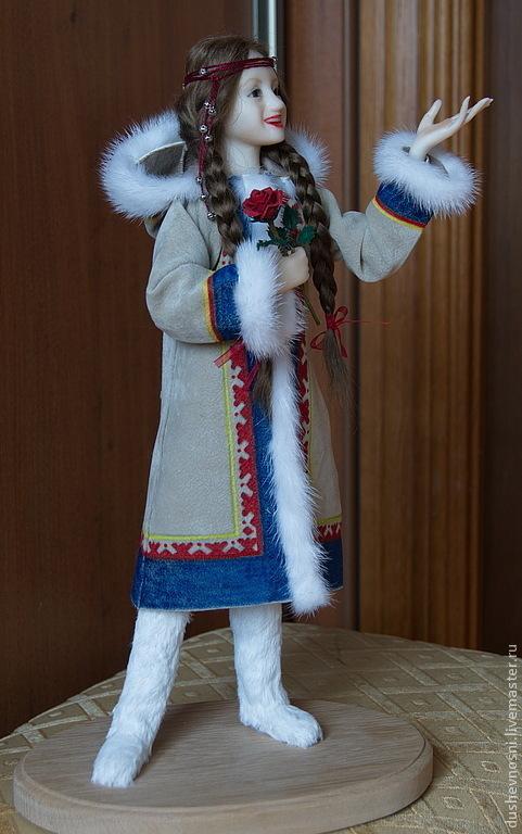 Коллекционные куклы ручной работы. Ярмарка Мастеров - ручная работа. Купить Герда. Handmade. Кукла ручной работы