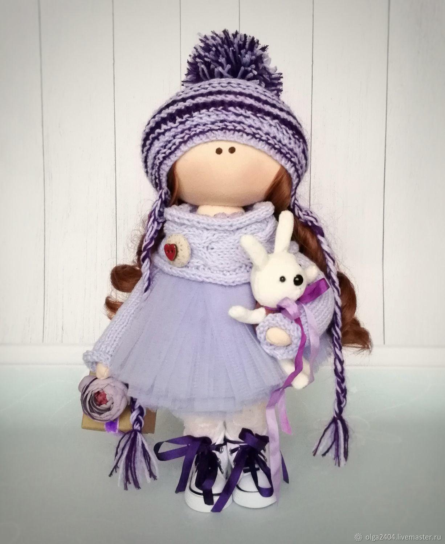 Куколка Лавандовое настроение, Куклы Тильда, Москва,  Фото №1