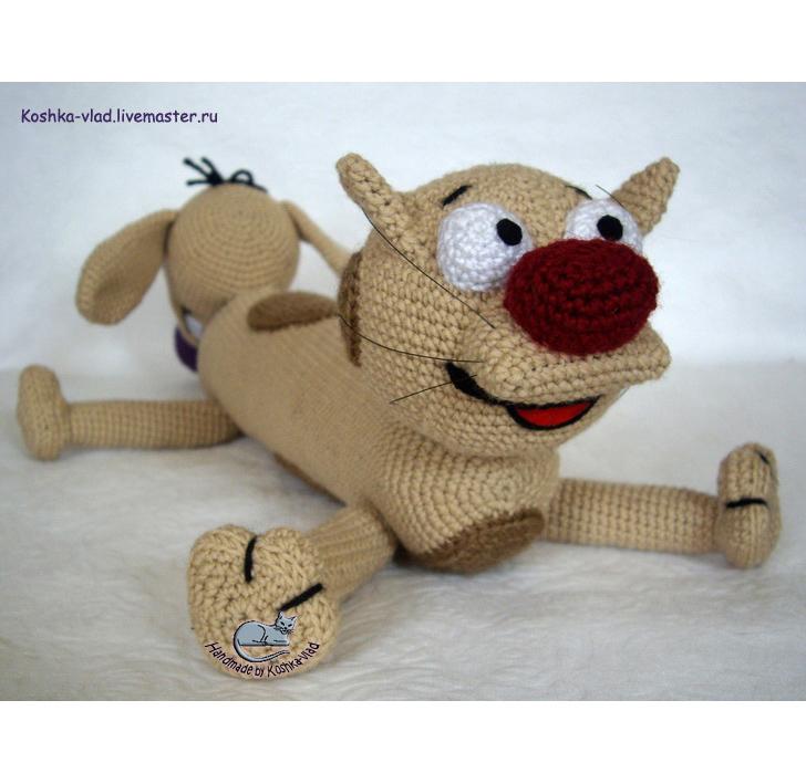 Кот и пес игрушки