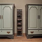 Для дома и интерьера ручной работы. Ярмарка Мастеров - ручная работа Шкафчик для ТВ, одежды или для книг. Handmade.