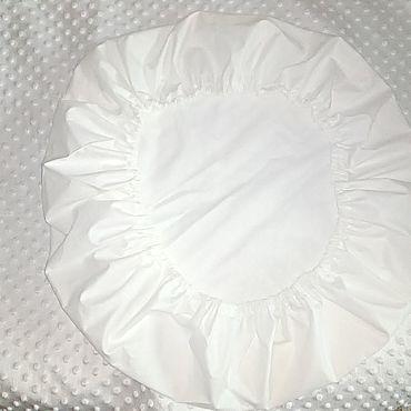 Works for children handmade. Livemaster - original item Sheets for round bed. Handmade.