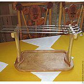 Для дома и интерьера ручной работы. Ярмарка Мастеров - ручная работа Поднос для подачи шашлыка. Handmade.