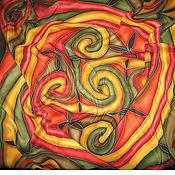 Аксессуары ручной работы. Ярмарка Мастеров - ручная работа Платок Кельтские спирали. Handmade.