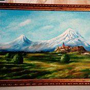 Картины и панно ручной работы. Ярмарка Мастеров - ручная работа Арарат. Handmade.