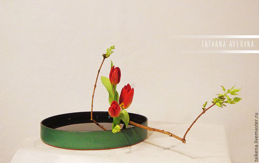 Интерьерные композиции ручной работы. Ярмарка Мастеров - ручная работа. Купить Икебана. Handmade. Цветочная композиция, япония, икэбана