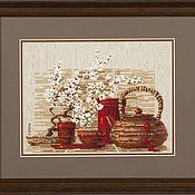 """Картины и панно ручной работы. Ярмарка Мастеров - ручная работа """"Чай"""". Handmade."""