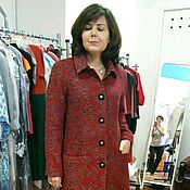 Одежда ручной работы. Ярмарка Мастеров - ручная работа 0716: Женское пальто на осень-весну. Handmade.