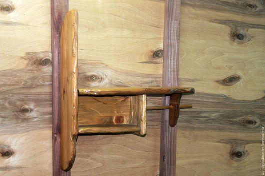 Мебель ручной работы. Ярмарка Мастеров - ручная работа. Купить Полка универсальная. Handmade. Коричневый, полка для ключей, ключница