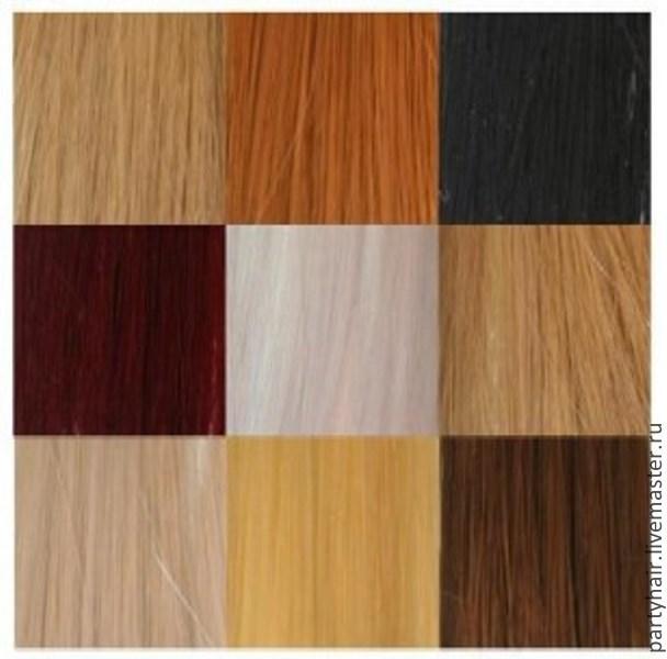 Искусственные волосы из фибры