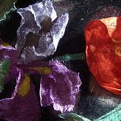 Материалы для творчества ручной работы. Ярмарка Мастеров - ручная работа Видео-МК  Цветы 3D в войлоке.. Handmade.
