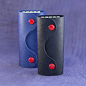 Сумки и аксессуары handmade. Livemaster - original item The housekeeper of saffiano leather Italy. Handmade.