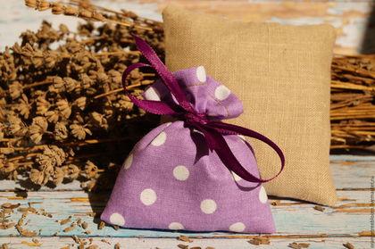`Крымские каникулы`. Комплект саше с ароматной крымской лавандой. Всё для уюта в доме.