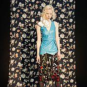 Одежда ручной работы. Ярмарка Мастеров - ручная работа Комплект . Топ из кожи и юбка. Handmade.