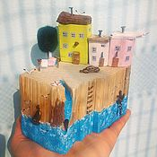 Для дома и интерьера handmade. Livemaster - original item Driftwood cottages Village grades Jim. Handmade.