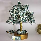 Деревья ручной работы. Ярмарка Мастеров - ручная работа Денежное дерево. Handmade.