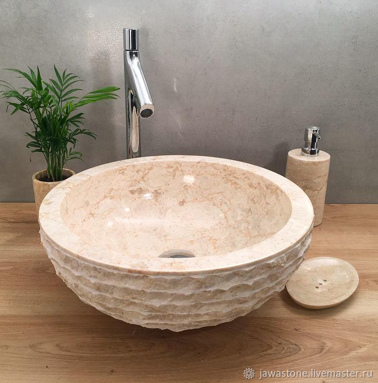 Раковина из мрамора, Мебель для бани и сауны, Самара,  Фото №1