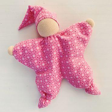 Куклы и игрушки ручной работы. Ярмарка Мастеров - ручная работа Кукла-обнимашка «Анютка». Handmade.