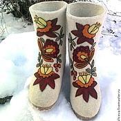 """Обувь ручной работы. Ярмарка Мастеров - ручная работа валенки """"Боярские"""". Handmade."""