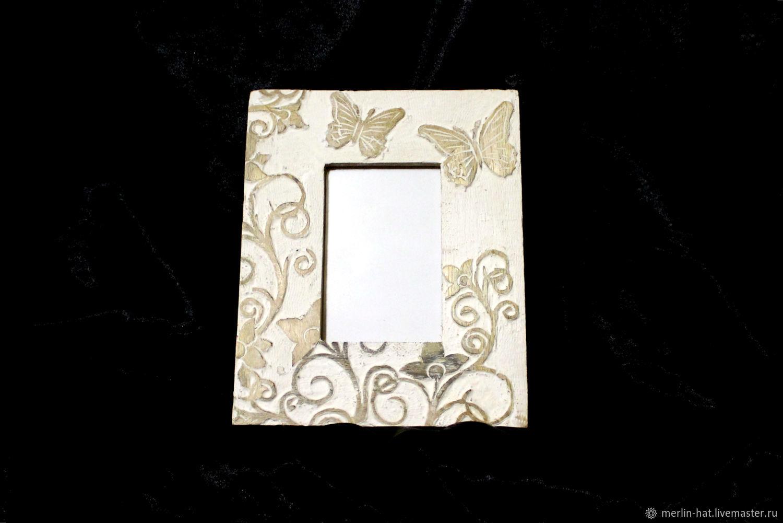 Photo frame 'Butterflies' 10 by 15 cm, Photo frames, Tambov,  Фото №1