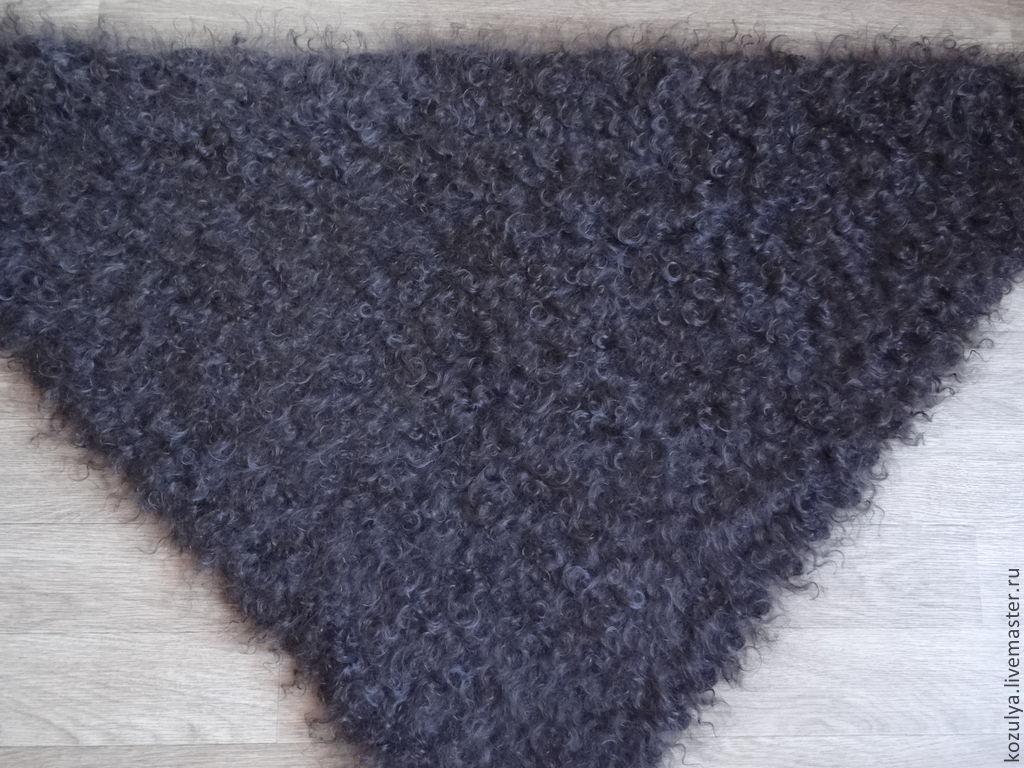 Из чего вяжут пуховый платок