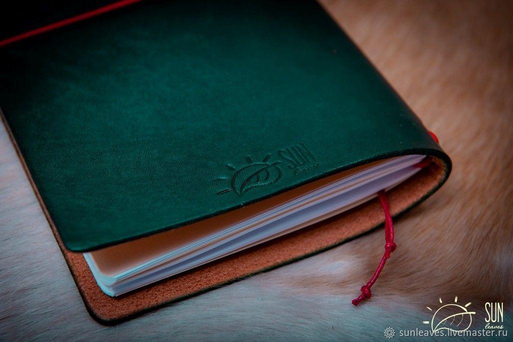 'Rain forest' Midori Travlers Notebook, Записные книжки, Санкт-Петербург, Фото №1