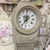 Для дома и интерьера ручной работы. Ярмарка Мастеров - ручная работа Напольные часы Флоренция - бежевые. Handmade.