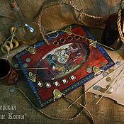 Квесты, настолки, домино ручной работы. Ярмарка Мастеров - ручная работа Покер с костями (Ведьмак). Handmade.